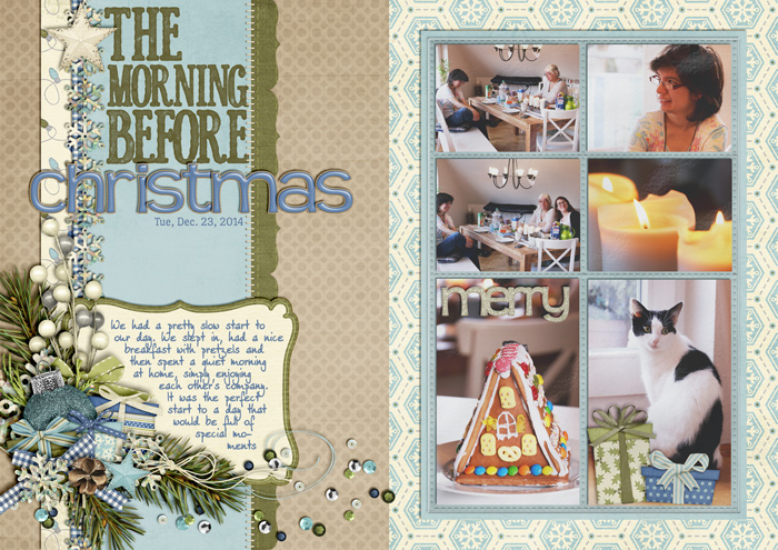 december daily, document christmas, digital scrapbooking, mistyhilltops, mini album