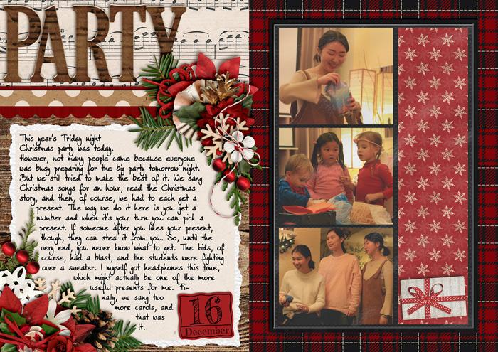 document christmas, december daily, christmas album