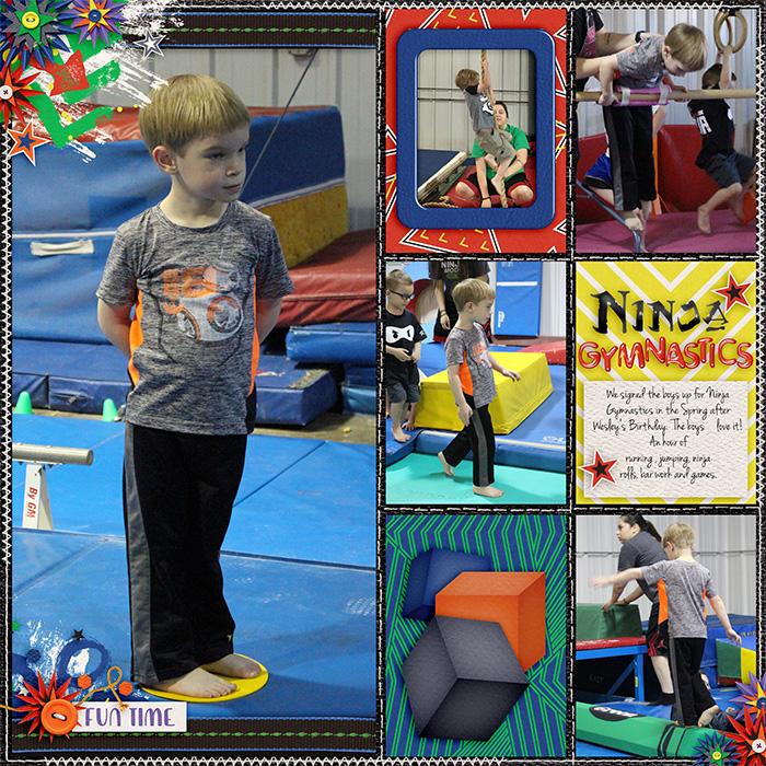 Ninja Gymnastics