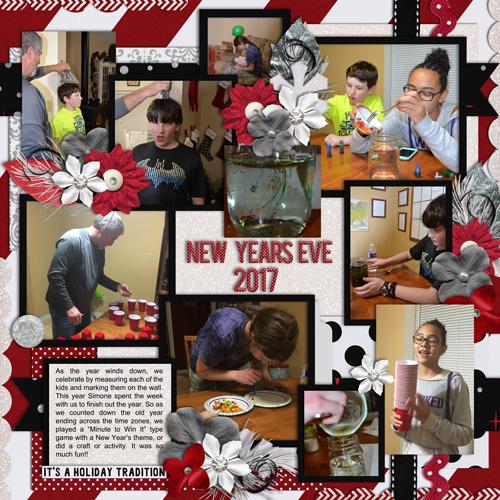 New Year's Eve 2017 June 2018 Bingo #5