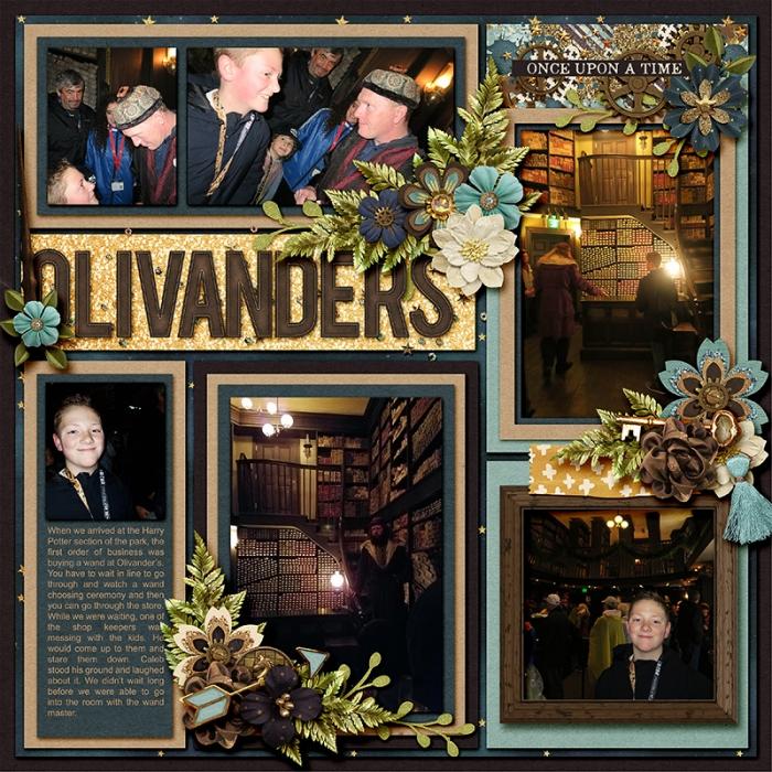 Olivanders left