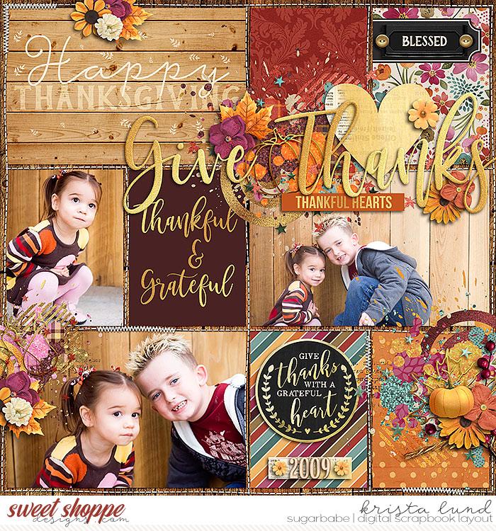 Thankful Hearts- 2009