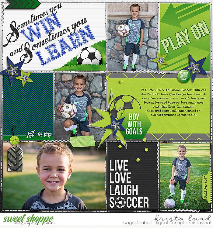 Boy with Goals