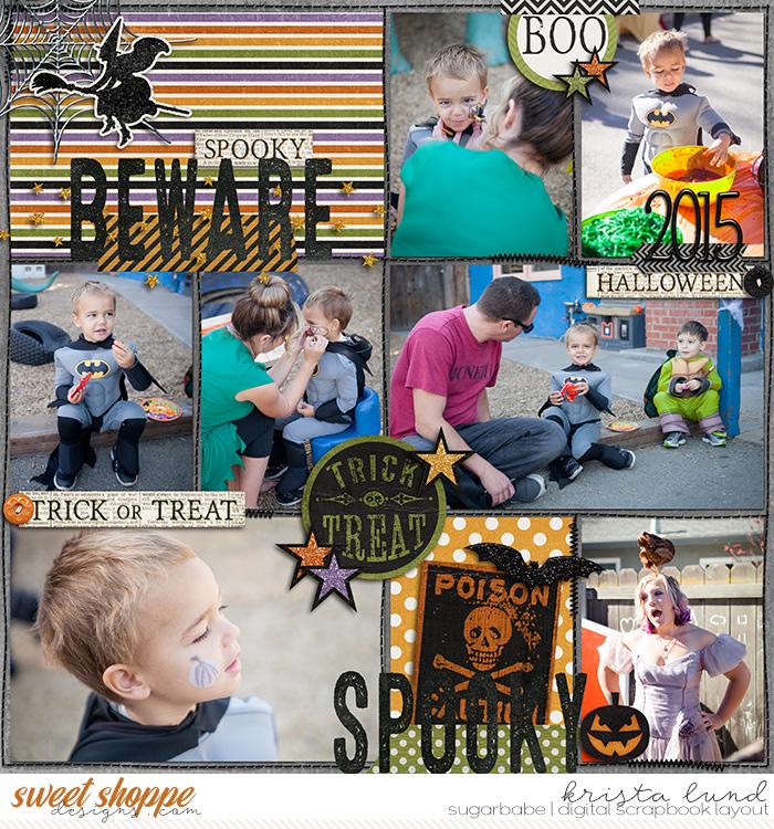 Preschool Halloween Party 2015