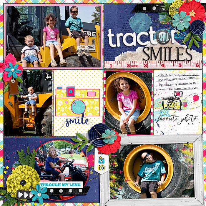 Tractor smiles