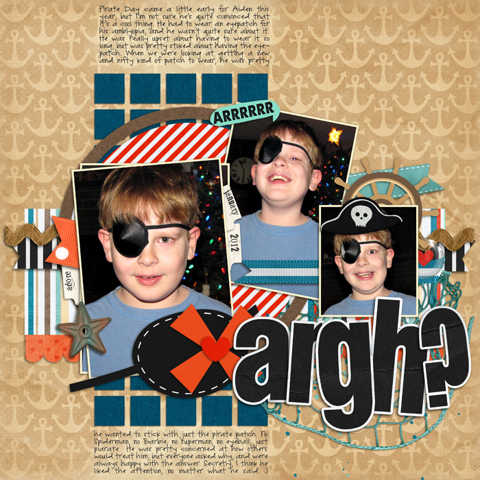 Argh? by Darcy Baldwin @ Sweet Shoppe Designs