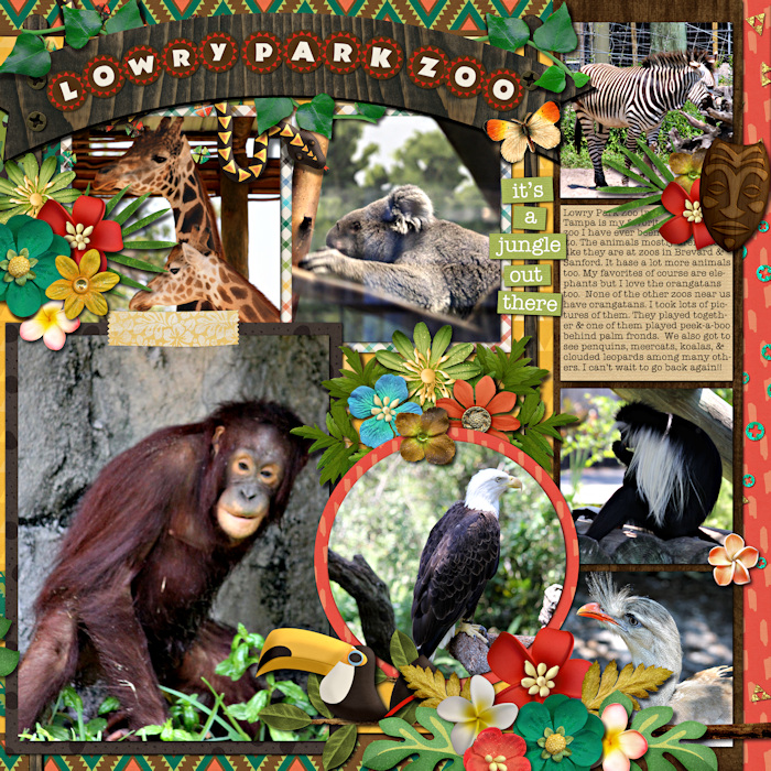 Lowry Park Zoo (right side)