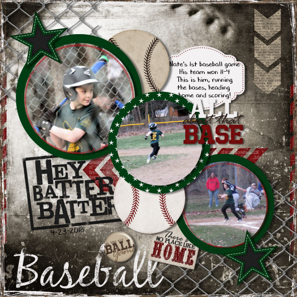 First Baseball Game :)