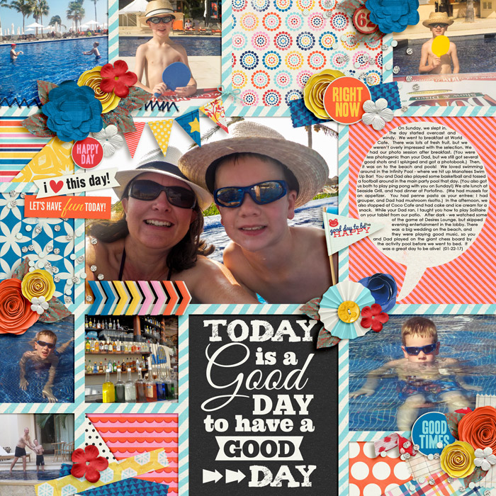 Vacation Collage - Sunday