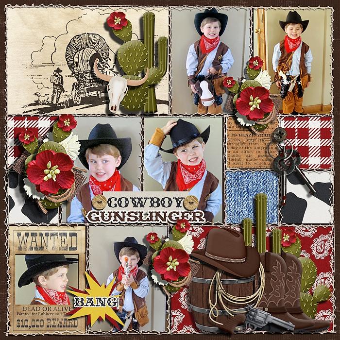 Cowboy Gunslinger