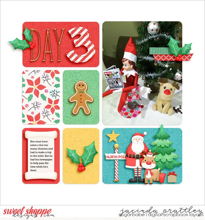Elf on a shelf - day 3
