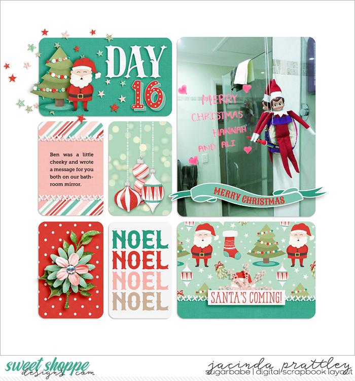 Elf on a shelf - day 16