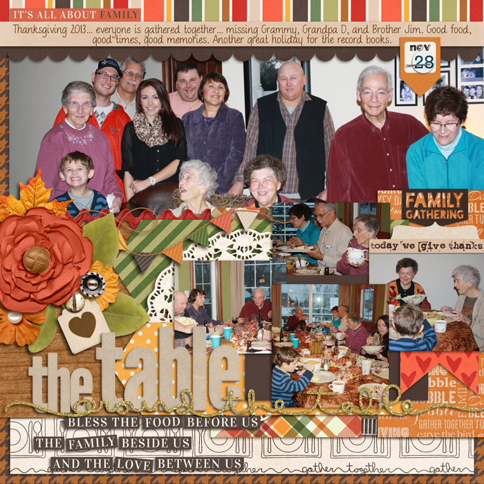 Around the Table - thanksgiving