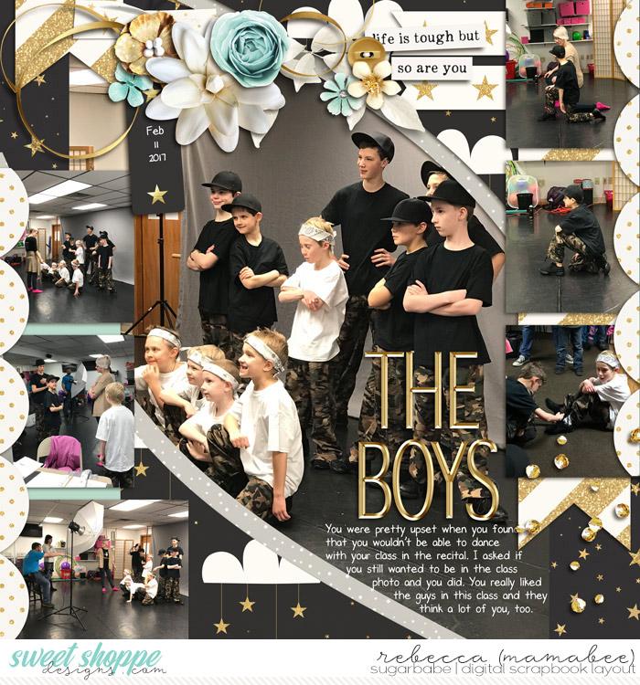 The Boys Dance group