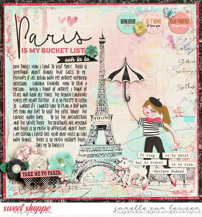 Paris Is My Bucket List