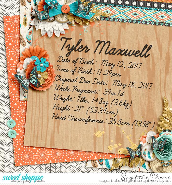 Tyler's Birth Stats