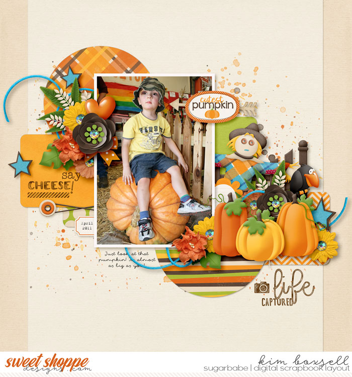 Cutest Pumpkin by jak | Let us not forget the go-to orange....PUMPKINS!