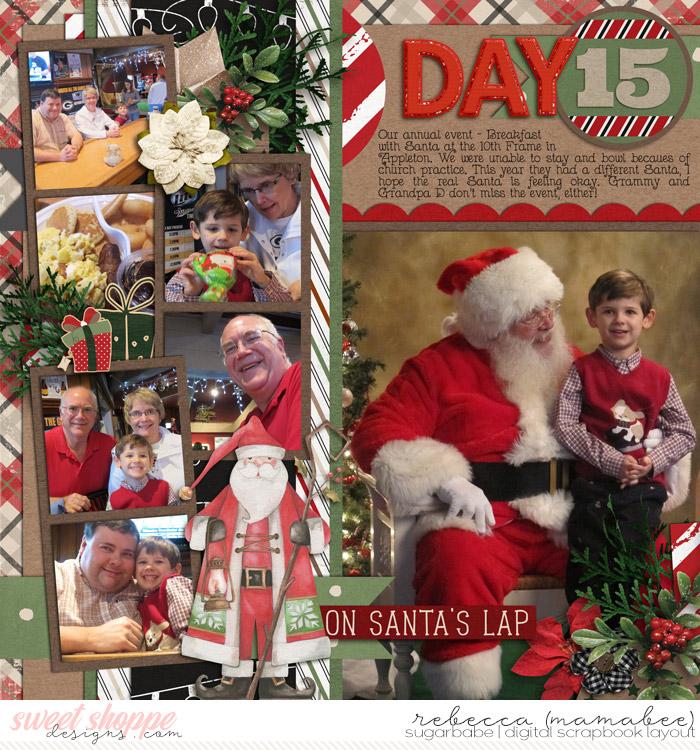 DD 2012 - Day 15 Breakfast with Santa