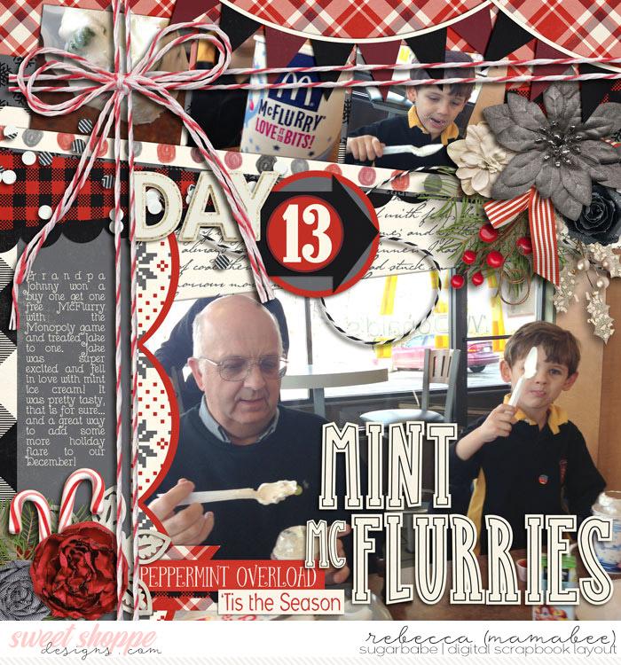 DD 2012 - Day 13 Mint McFlurries