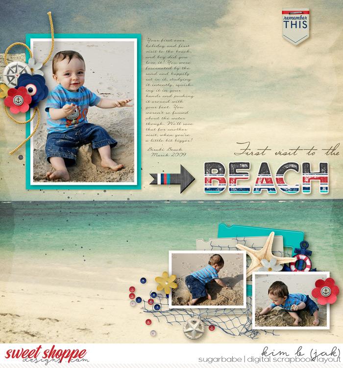 First Beach Visit