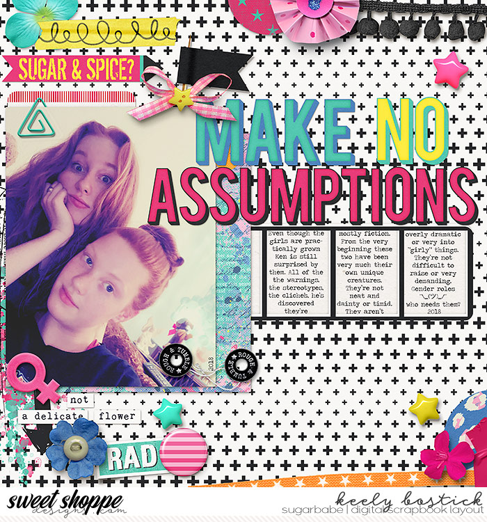 Make No Assumptions