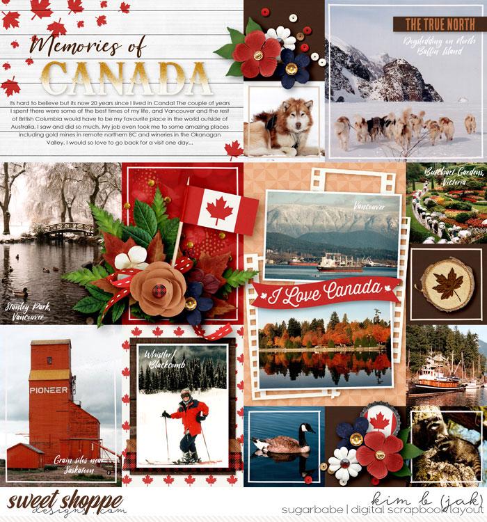 Memories of Canada