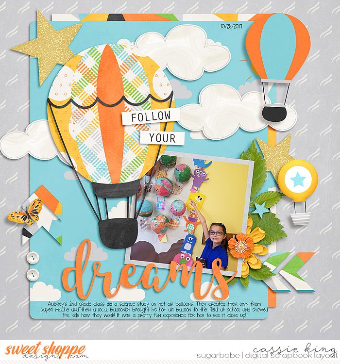 Aubrey's Hot Air Balloon craft