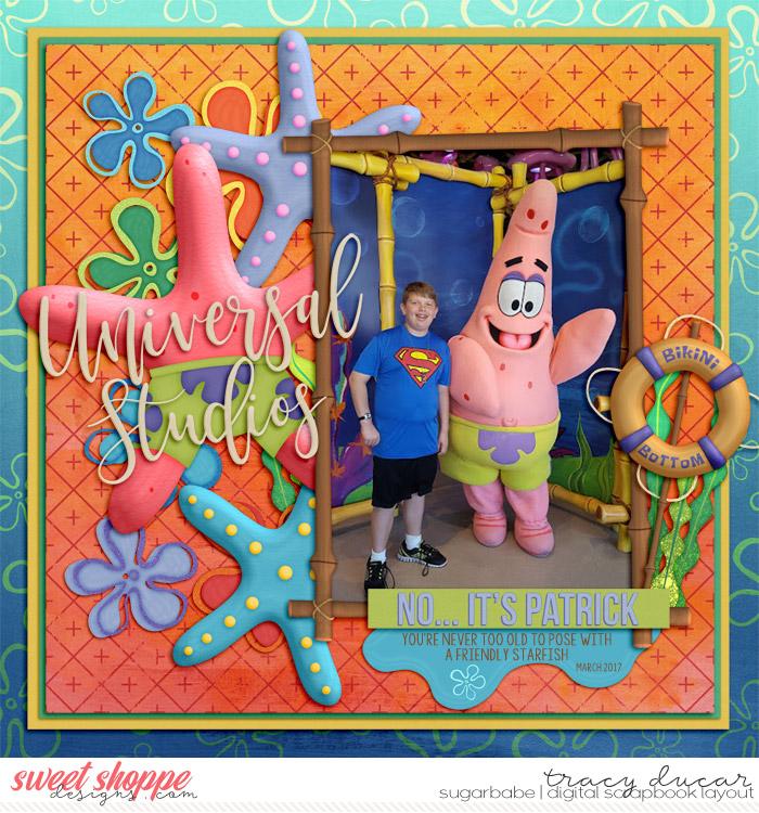 Pose with Patrick