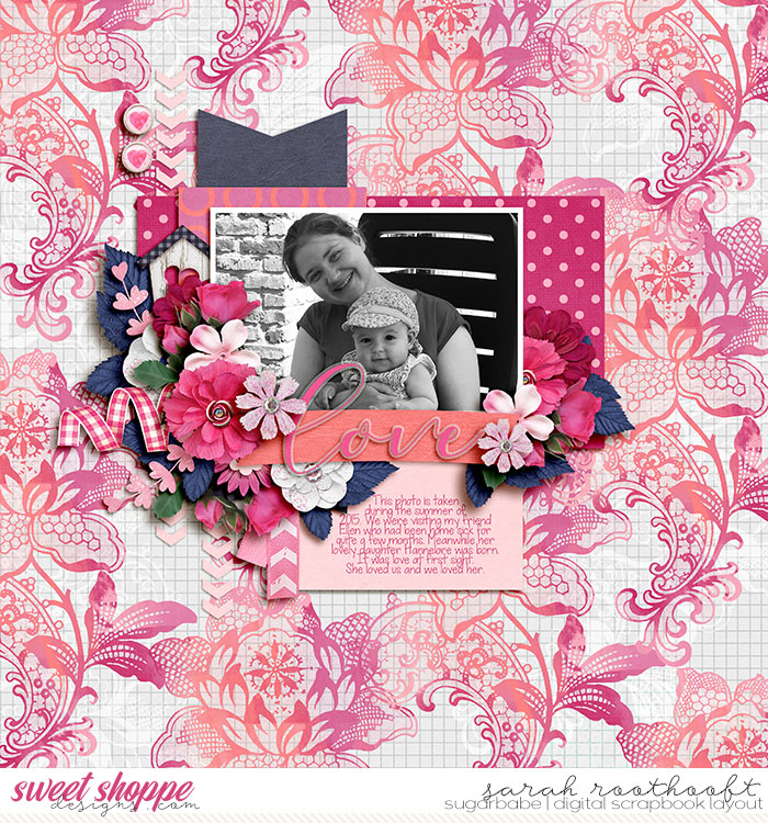*FREE with your $15 Purchase* Tickled Pink by Sweet Shoppe Designs