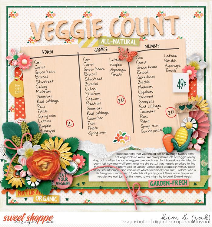 Veggie Count