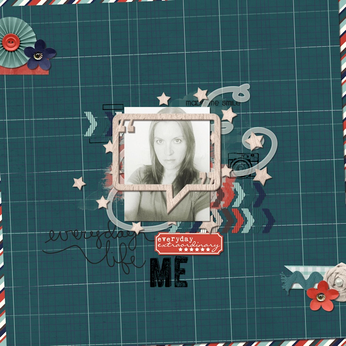 Easy Tricks to Scrap Less-Than-Perfect Photos by Mari Franchuk for Traci Reed Designs