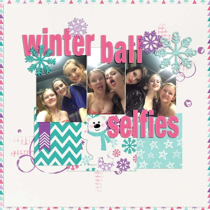 ~Winter Ball Selfies~