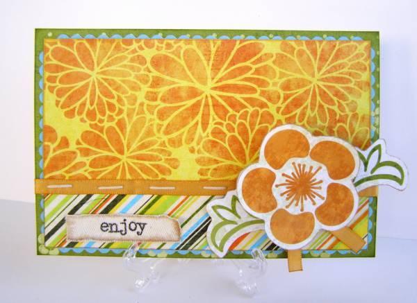 'Enjoy' Card