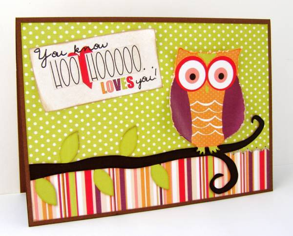Hoo Loves You Card