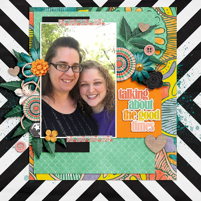 Good Times by Natalie C | The Front Porch Collab by Krystal Hartely and Amanda Yi Fiddlesticks No. 10 by Fiddle Dee Dee Designs