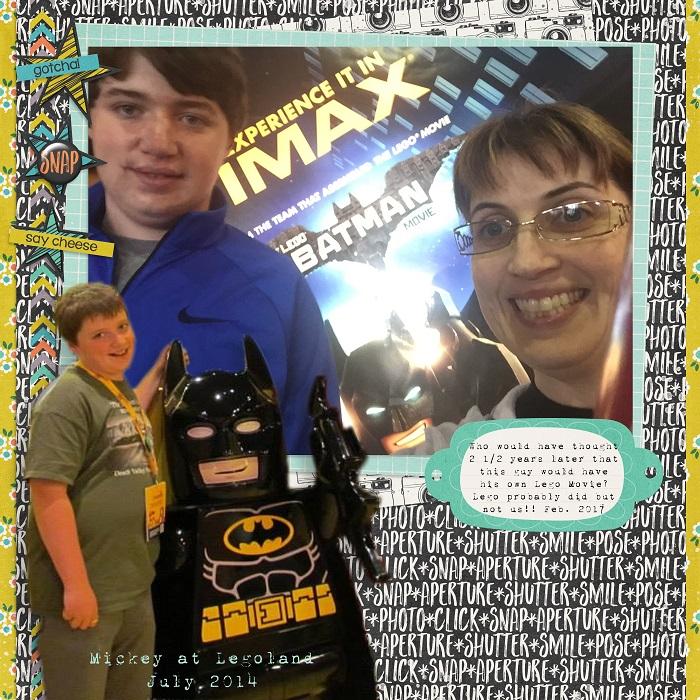 Lego Batman Movie February 2017