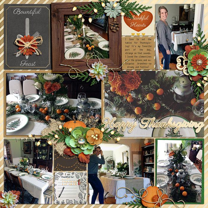 Cozy Thanksgiving