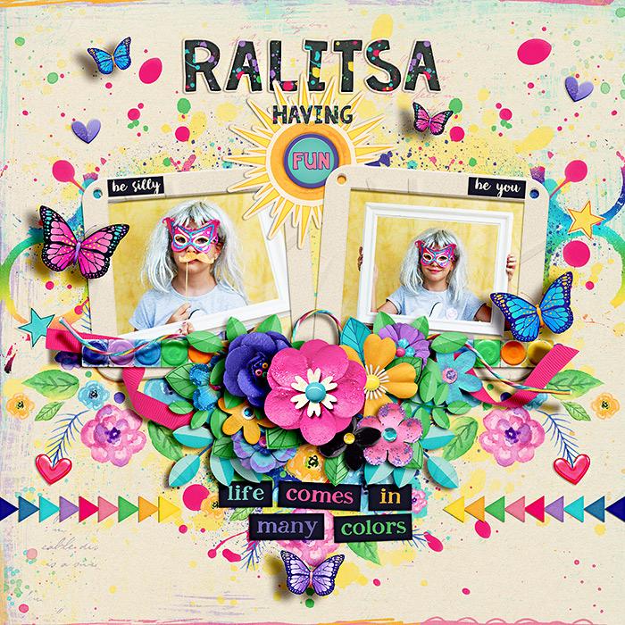 Ralitsa having fun