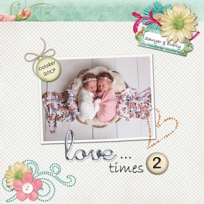 Love ... times 2