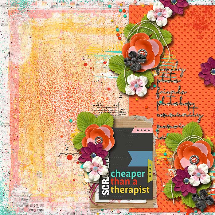 Scrapbooking...Cheaper than a Therapist