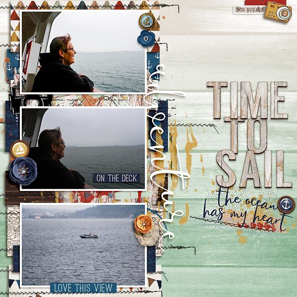 Sharon at Sea