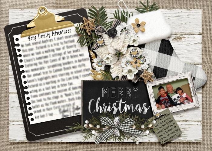 2018 Christmas Card back
