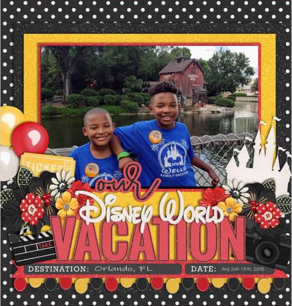 Disney World Album Cover