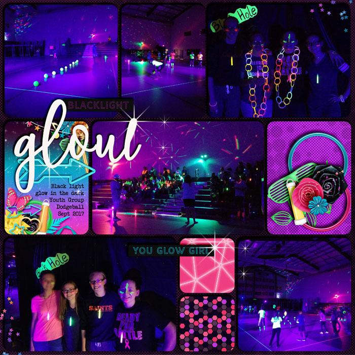 Glow in the Dark Dodgeball