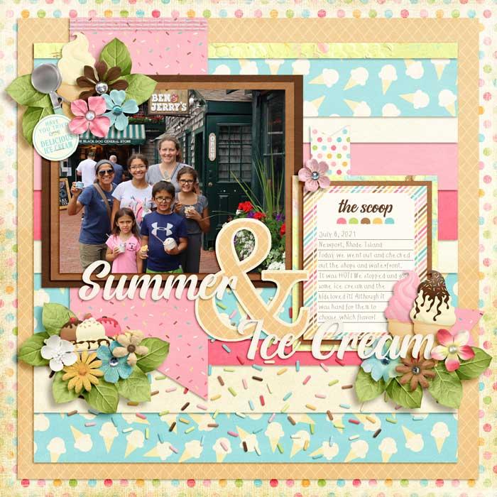 Summer and Ice cream