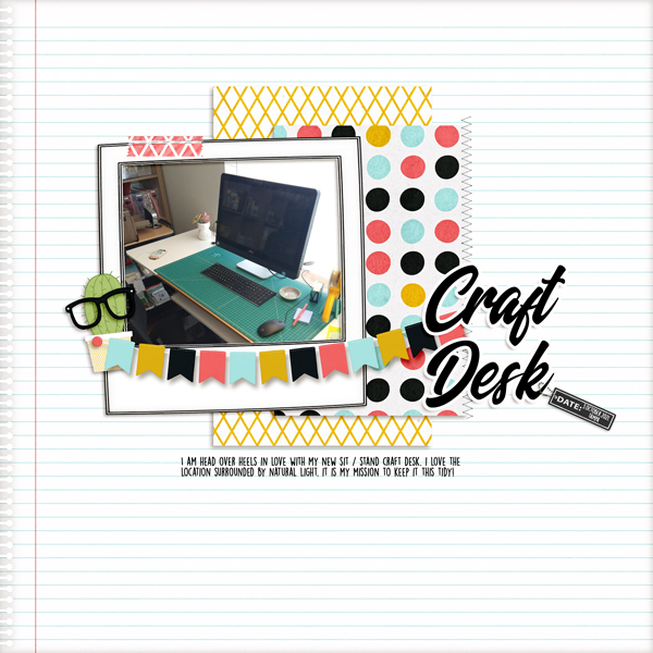 DSD Oct2021 - Recipe Challenge - Craft Desk