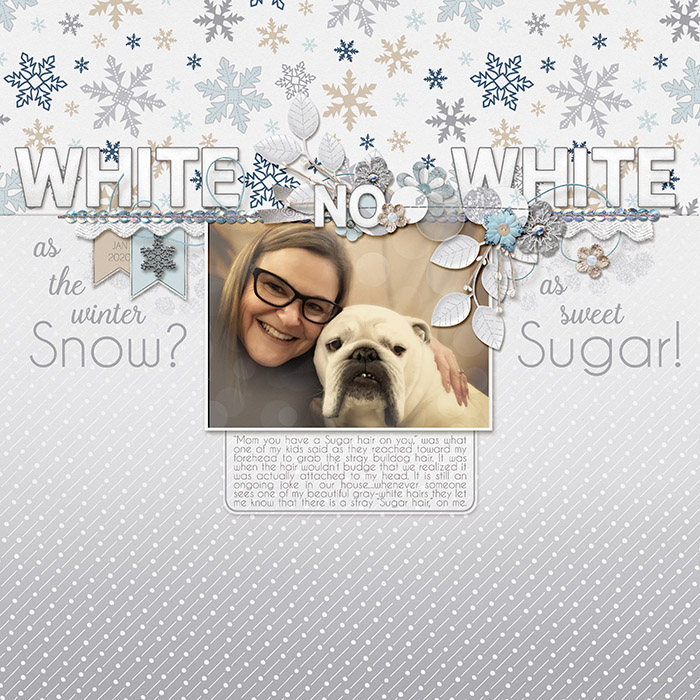 White as the Winter Snow? No. White as Sweet Sugar!