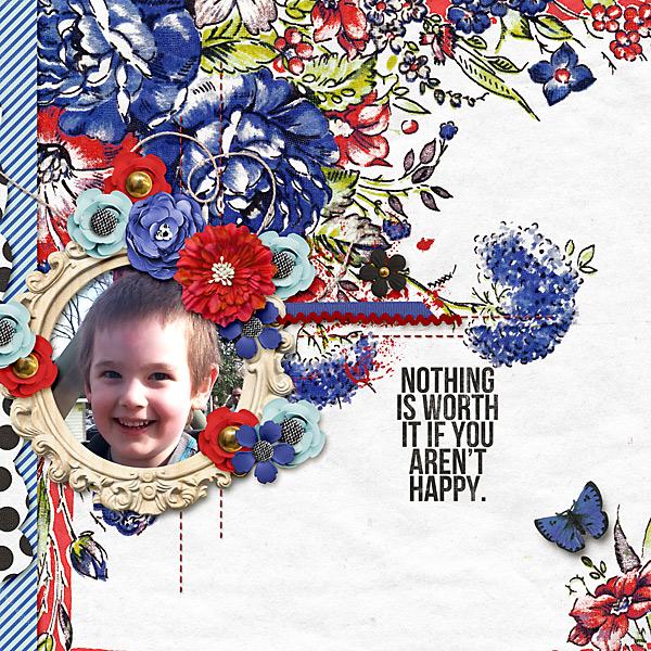 Sweet Shoppe 13th birthday Feb 15 single photo layout