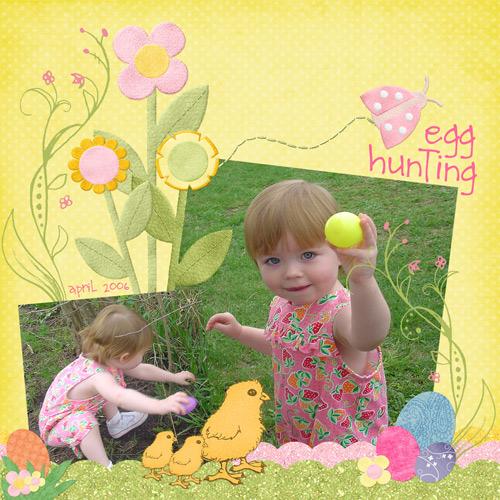 egg-hunting