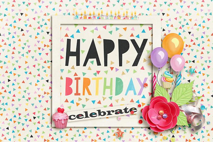 15th Birthday Bash: Feb 19-Birthday Card